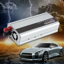 1500W 150W Car DC 12V to AC 220V Power Inverter Charger Converter LOT KO