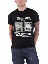 Family Guy T Shirt Most Wanted Quahog police dept new Official Mens Black
