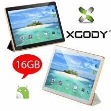 9.6'' inch Android 4.4 Tablet PC Quad Core 2SIM 3G Phablet 1+16GB HD Dual Camera