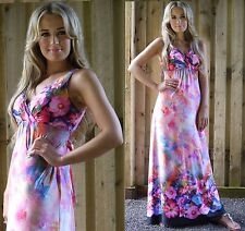 Long Summer Maxi Dress Holiday Resort Party Empire Plus Size UK 22/24 MontyQ