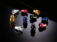 Far Near Presta Valve caps cnc anodised lightweight alloy coloured
