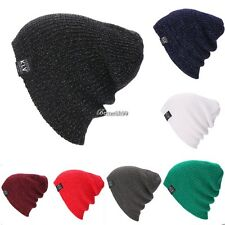 New Beanie Hat Unisex Women Men Fashion Stretch Long Knit Hat BF901
