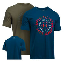 Under Armour Men's Support the Troops S/S T-Shirt - UA 1291225 - All Colors & Si