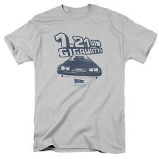 Back to the Future Movie Delorean 1.21 GIGAWATTS Licensed T-Shirt All Sizes