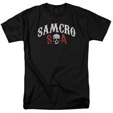 Sons of Anarchy SOA SAMCRO FOREVER Licensed Adult T-Shirt All Sizes
