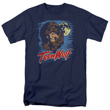 Teen Wolf Movie Painted MOON WOLF Adult T-Shirt All Sizes