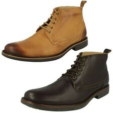 Mens Anatomic Smart Lace Up Ankle Boots Pedras
