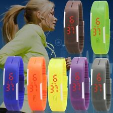 Children Child Kids Boy Girl Unisex LED Digital Wrist Watch Wristwatch WT8801