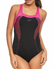 Speedo Womens Speedo Fit Kickback Swimsuit