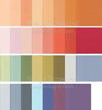 Bazzill 12x12 Mono Textured Cardstock ~ 32 Colour Options Scrapbooking Card (2)