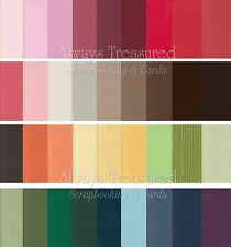 Bazzill 12x12 Mono Textured Cardstock ~ 52 Colour Options Scrapbooking Card (1)