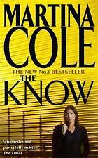 The Know by Martina Cole (Paperback, 2004)