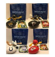 McDonalds Happy Meal Rush Zone NFL Football Player and Ball Choose Team
