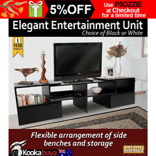 TV Stand Entertainment Unit Low line Cabinet Drawer 175cm