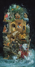 Shakespearean Fantasy James Christensen LE 250 29x15 Canvas Signed NEW Giclee