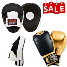 Boxing Focus Pads Set Sparring Target Punching Gloves MMA UFC Training Bag Mitts