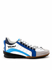 Dsquared Shoes Sneaker % Leather Man Whites SN434-714-M585
