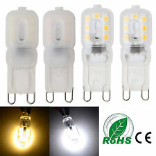 G9 3W LED Corn Bulb SMD 2835 14 LEDs Silicone Crystal Light 110V 220V White Lamp