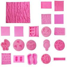 3D Silicone Cake Fondant Mold Chocolate Pastry Pies Mould Sugarcraft DIY Decor