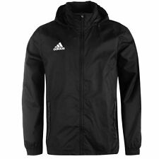 adidas Core Rain Jacket Mens Black Jackets Coats Outerwear Sportswear