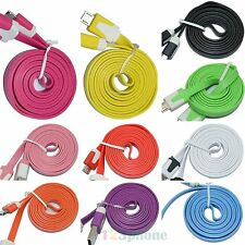 1M 3FT 2.0 USB Data Charger Charge Cable For Lenovo K5 K6 Note Vibe K4 K3 A6000