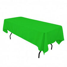 Tablecloth Polyester Rectangular 60x102 Inch By Broward Linens (Variety colors)