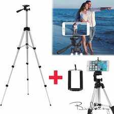 Professional Camera Tripod Stand Holder Mount +Bag for iphone Samsung Cell Phone
