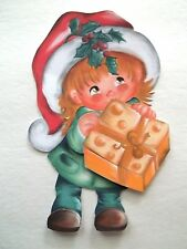3D - U Pick - XM21 Christmas Boy Girl Santa Candy Card Scrapbook Embellishment