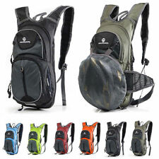 10L Cycling Riding Bag Backpack Climbing Hiking Pouch Pack For Hydration Bladder