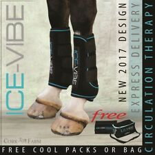 Horseware ICE VIBE LEG BOOTS Cool Vibrating Circulation Therapy FULL *NEW STYLE*