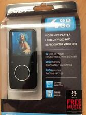 NEW COBY MP620-4G VIDEO MP3 PLAYER FM TUNER 12 HRS OF VIDEO