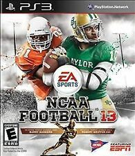 PS3 NCAA Football 13 - BRAND NEW FACTORY SEALED - FREE SHIPPING