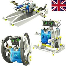 14 in 1/ 3 in 1 Transforming Educational Solar Powered Robot Kit DIY Energy Toy