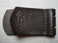 WWI WW1 German belt buckle leather tab