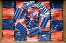 500pcs Bullet Darts For NERF Kids Toy Gun Blasters #S N-Strike Round Head Blue