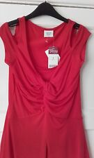 BNWT NEXT SIZE 6 RED STUNNING STRAPPY TOP WITH CUT OUT SHOULDER DETAIL
