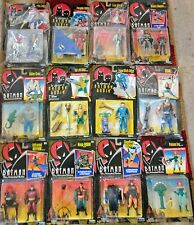 Kenner Batman Lot of 54 Sealed Figures - The Animated Series, Forever, Legends