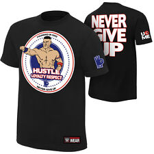 John Cena NEW Never Give Up WWE Authentic T-Shirt Men's XL