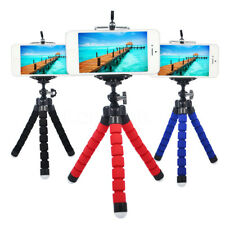 Universal Octopus Full Adjustable Tripod + Phone Holder for iPhone Samsung Sony