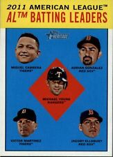 2012 Topps Heritage Base Singles (Pick Your Cards)