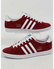 adidas Originals - Adidas Gazelle OG Trainers in Burgundy & White - deadstock