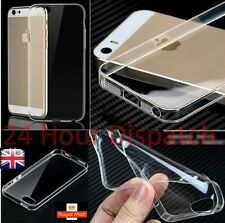 New Ultra Thin Silicone Gel Slim Rubber Soft Case For Iphone5/5s  {kt45