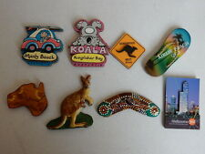 One Selected plywood or wood Souvenir Fridge Magnet from Australia