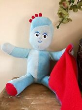❤ IN THE NIGHT GARDEN ~ TALKING SINGING LARGE BLUE IGGLE PIGGLE ❤