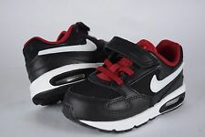 NIB Nike Toddler Air Max ST (TDV) 654289 008 sz 2C-8C black red shoes sneakers