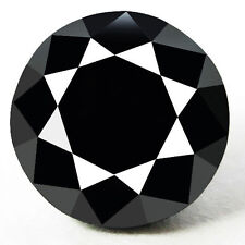 1.00 Cts. CERTIFIED Round Black AAA Quality Loose Natural Diamond Wholesale Lot