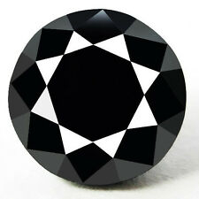 0.125 Cts. CERTIFIED Round Black AAA Quality Loose Natural Diamond Wholesale Lot