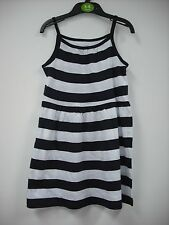 BNWOT H&M Navy and White Stripe Jersey Summer Dress. Girls. Age 2-10 Years
