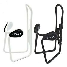 Azur Bidon Cage Deluxe Alloy Bike Bicycle Water Drink Bottle Holder BLACK or WHI