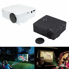 HD Home Theater Cinema H80 LCD Image System 80 Lumens Portable LED Projector